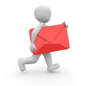 post, letters, envelope