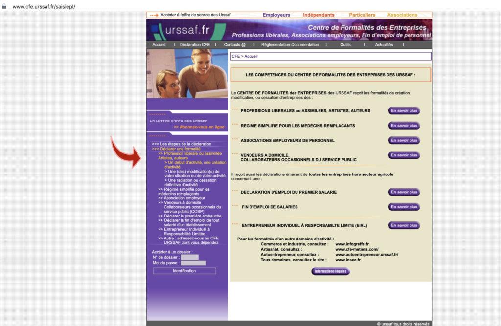 formulaire, urssaf