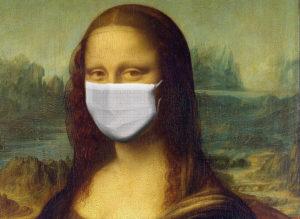 Mona Lisa, masque, covid