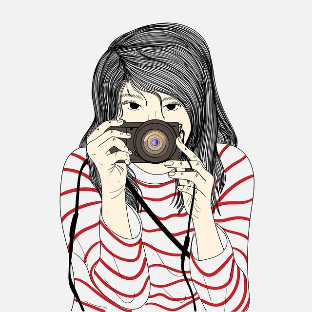 photographe, dessin