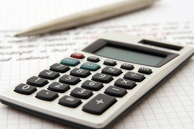 calculatrice, comptes