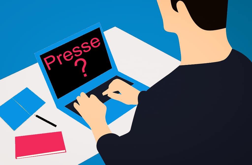 dossier de presse, illustration